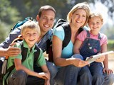 Young family hiking; Family Estate Planning